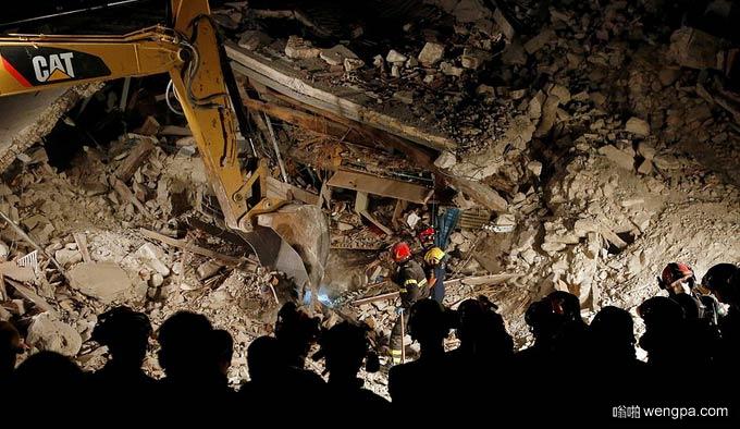 意大利佩鲁贾省诺尔恰6.2级地震 现场最新图片