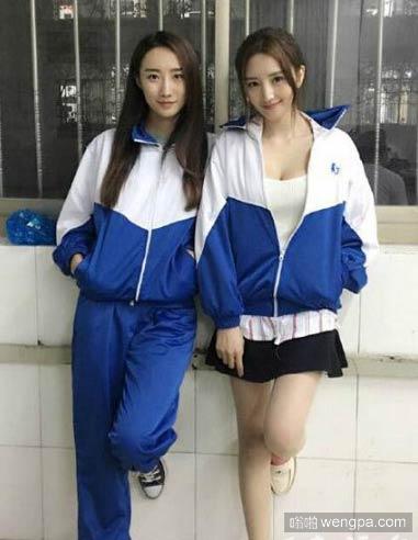 同样的校服不同的穿法 你喜欢哪一种