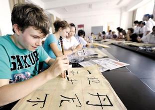 【老外学中文搞笑段子】中文八级考试 老外泪流满面 交白卷 回国了