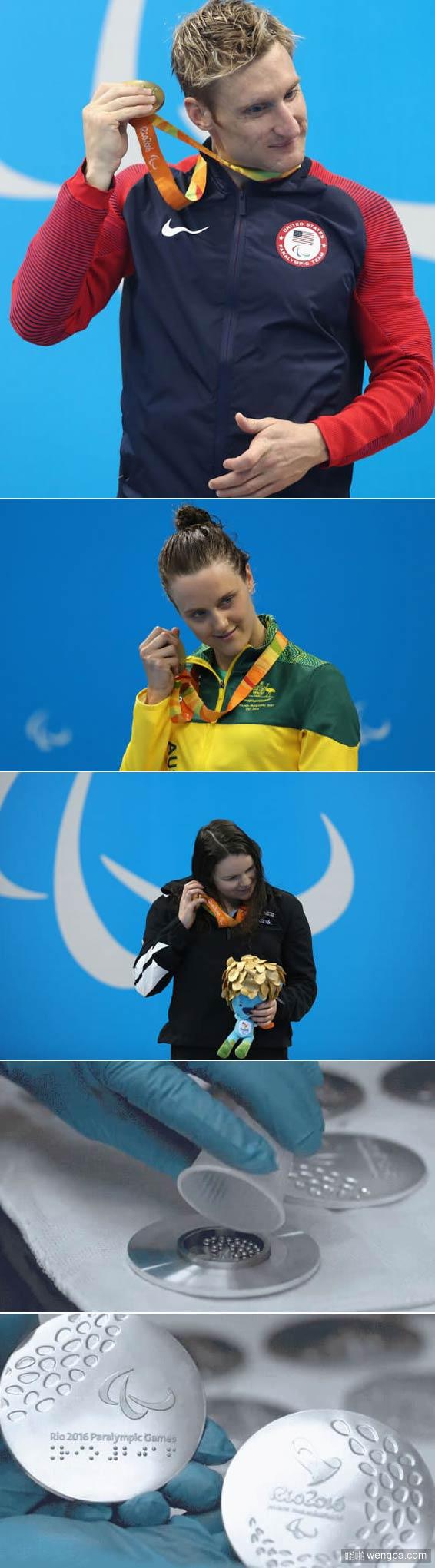 这是第一次 残奥会运动员能听到他们的奖牌 - 嗡啪网