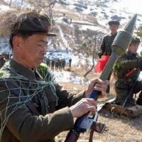军事伪装 我只服朝鲜