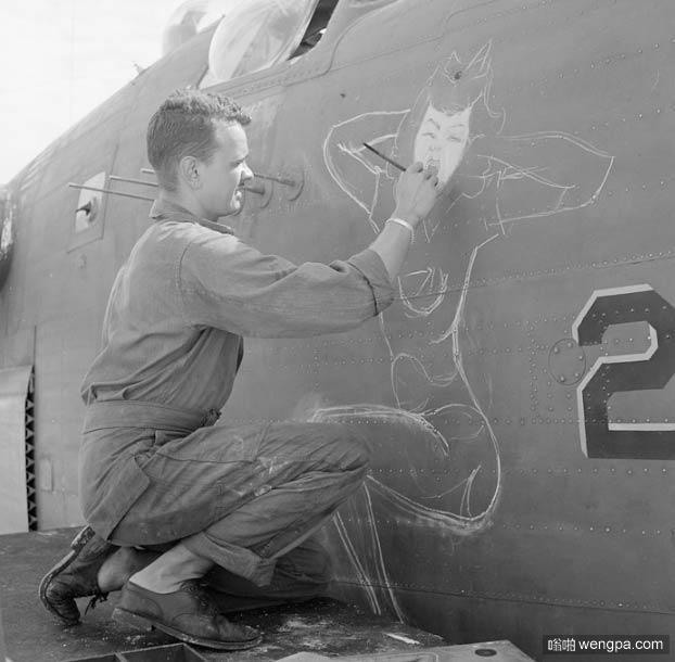 二战机头艺术:美军二战军用飞机的涂鸦艺术