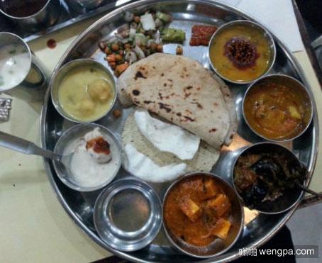 在印度1.5美元买到的食物