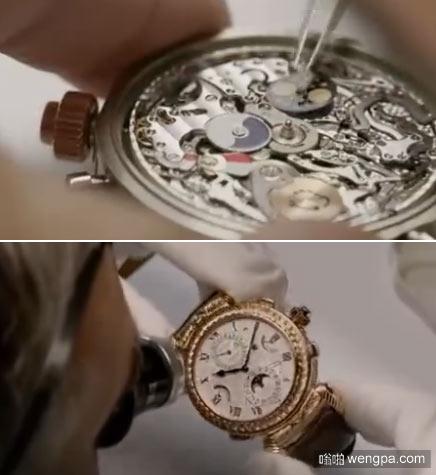 百达翡丽腕表制造全过程,一块上百万的表就是这样诞生的