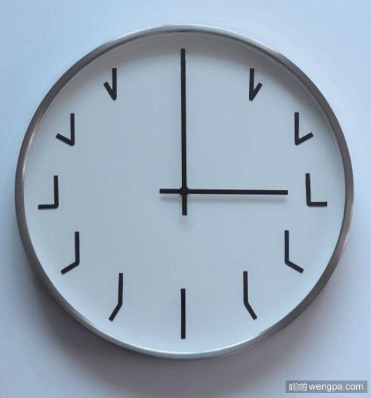 这钟看着有点晕