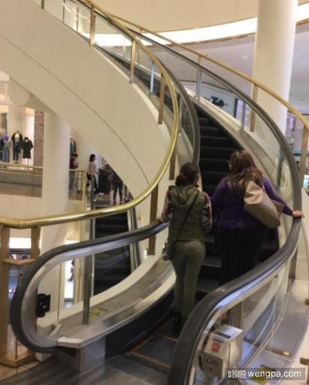 旋转滚梯 见过吗