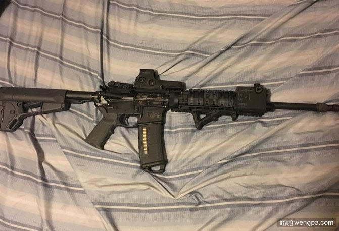 我这些年存的零花钱 自动步枪 搞笑图片 - 嗡啪网