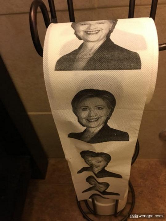 这不会是特朗普用的厕纸吧