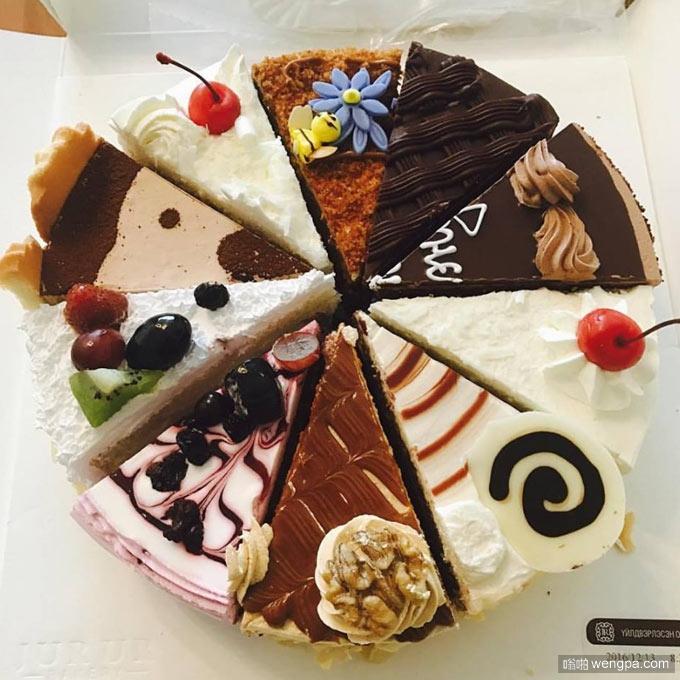 我在想这生日蛋糕怎么做成的 生日蛋糕搞笑图片 - 嗡啪网