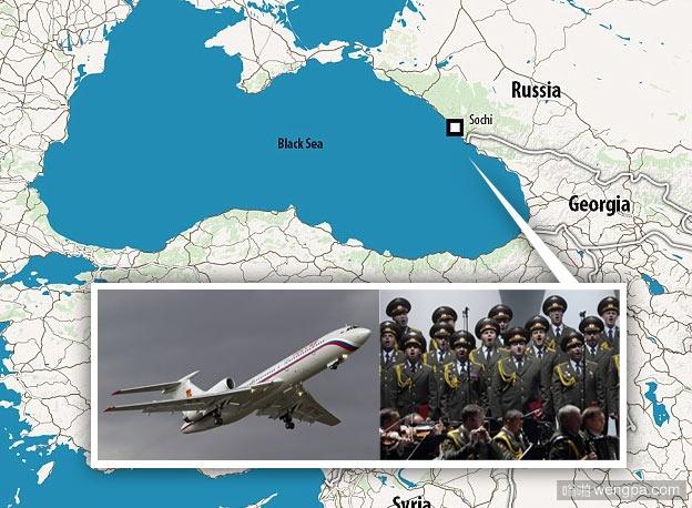 俄罗斯载92人包括著名军乐团成员飞机在黑海坠毁 官网:因机械故障