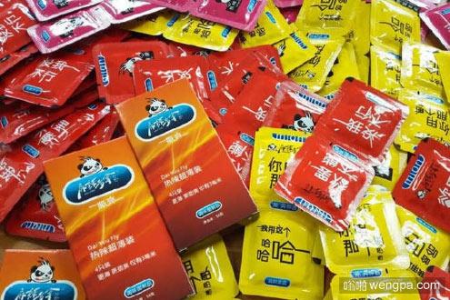 辣条包装似避孕套 我能说我桌上放着一包这样的辣条吗