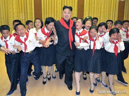 朝鲜人见金正恩为什么哭的那么伤心
