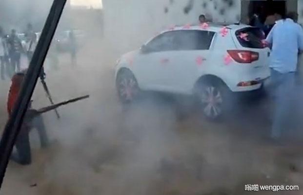 【视频】阿尔及利亚人是这样去丈母娘家接新娘的