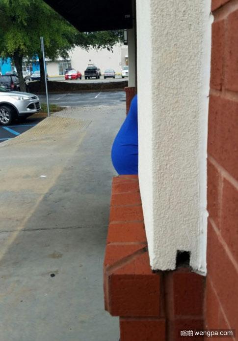 网友怀孕的妻子 我以为这是哪个胖子的屁股呢
