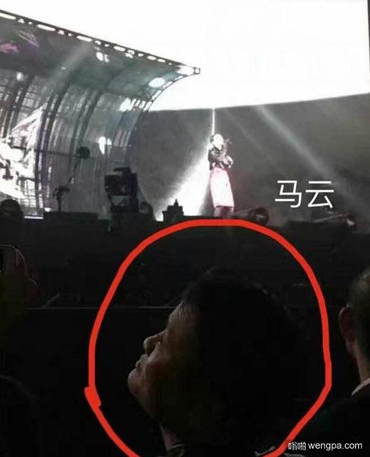 王菲演唱会据说去了娱乐圈半壁江山