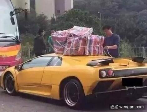 车子太小 装不了多少货