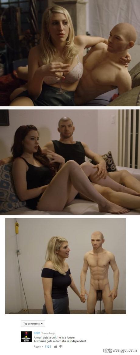 男性充气娃娃是真的吗???..这是否意味着处男的增加??