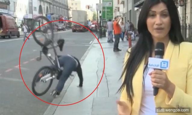 【视频】直播中发生的各种尴尬意外 超级搞笑 - 嗡啪网