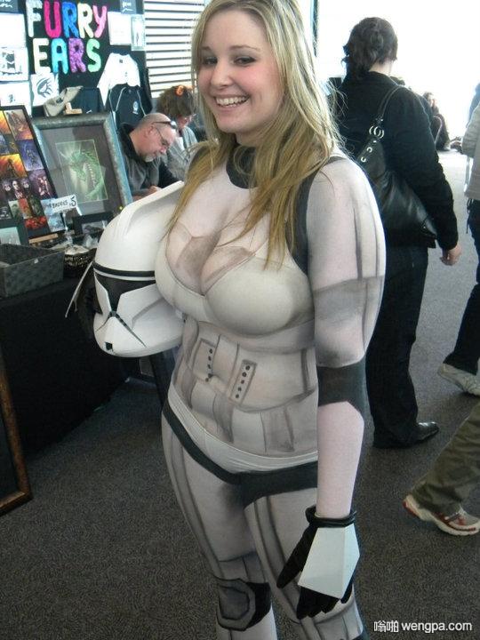 美丽的cosplay 美女cosplay星球大战 - 嗡啪网