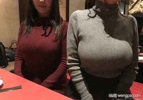 【大胸美女】多年不见女同学 变化明显 大胸妹子 - 嗡啪网
