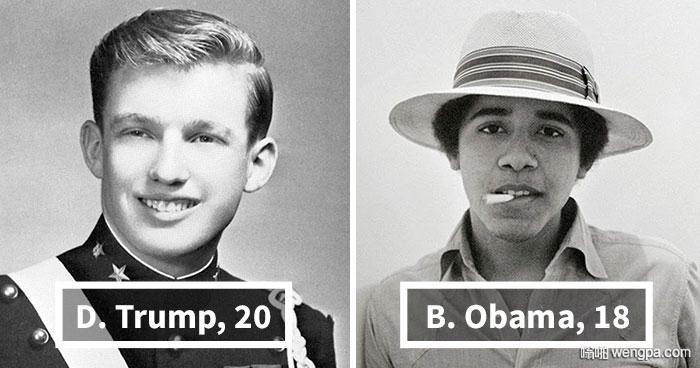 10+美国总统年轻时候的样子