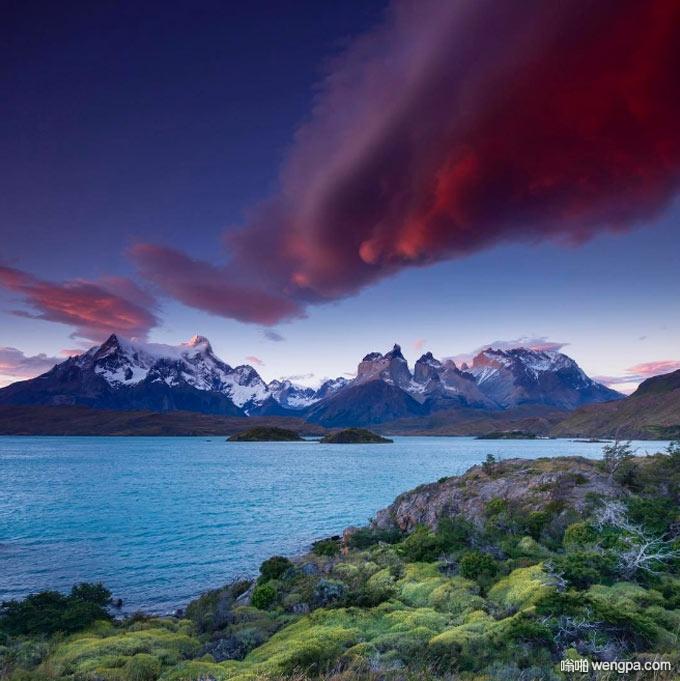 百内国家公园,巴塔哥尼亚,智利