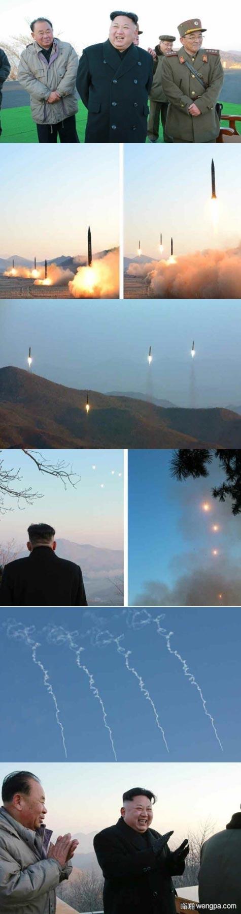 【金正恩搞笑图片】当超过八枚导弹齐射时 萨德将完全无效 - 嗡啪网