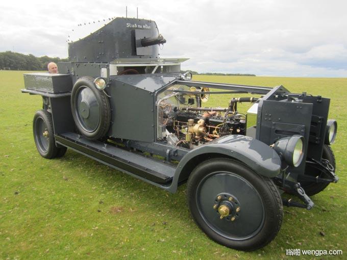 劳斯莱斯装甲车 全世界仅存五台