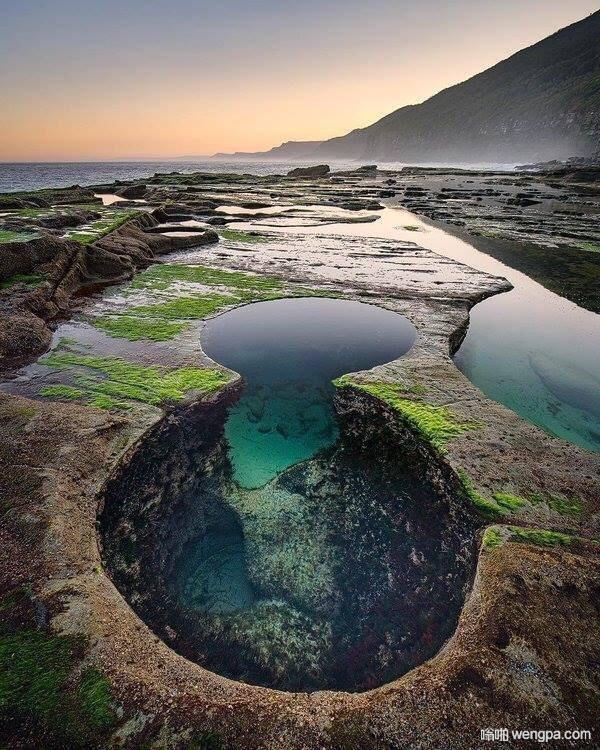 澳大利亚悉尼皇家国家公园8字游泳池