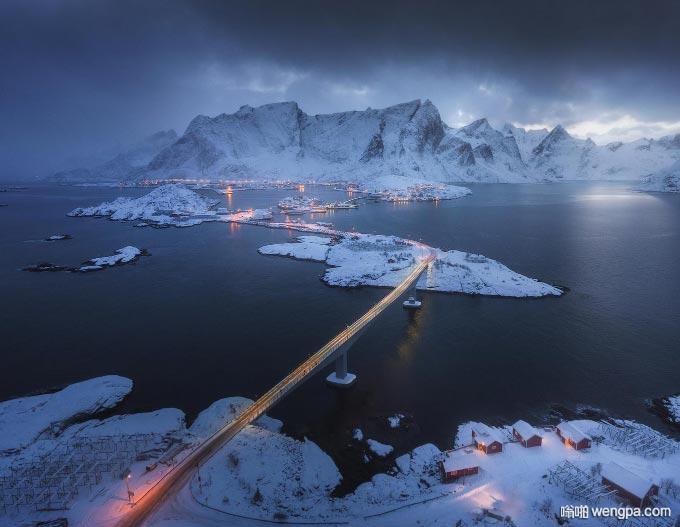 Lofoten Islands,雷恩,挪威