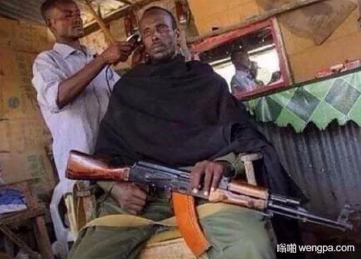 当你去一家新的理发店剪头发
