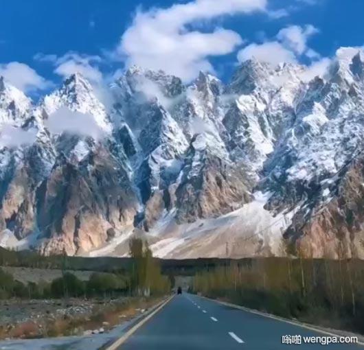 """迷人的""""喀喇昆仑公路""""巴基斯坦"""