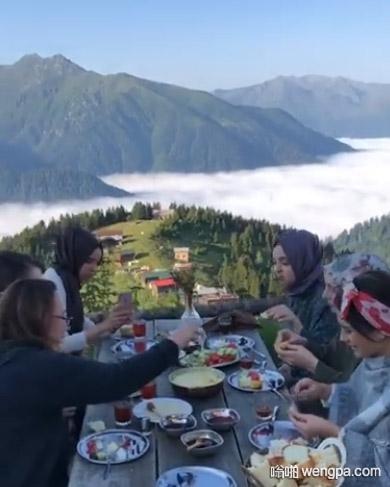 云上的早餐 @organikadam