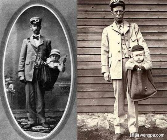 过去快递孩子是合法的。1913年邮寄儿童是合法的。孩子们在他们的衣服上贴着邮票,乘坐火车到达目的地,并附有承运人信件。