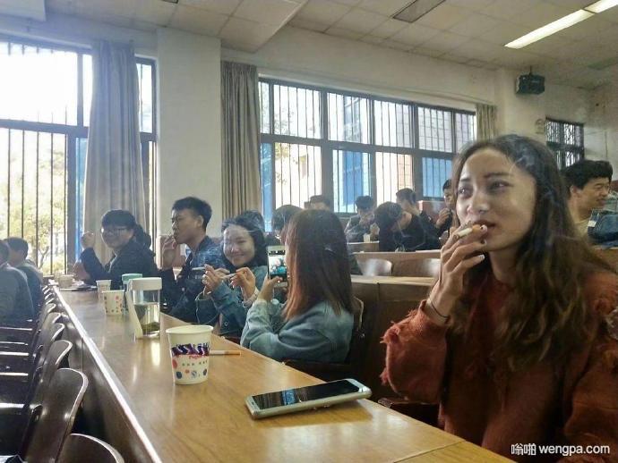 烟草专业的同学在上课…#烟草专业是什么体验# 【组图】
