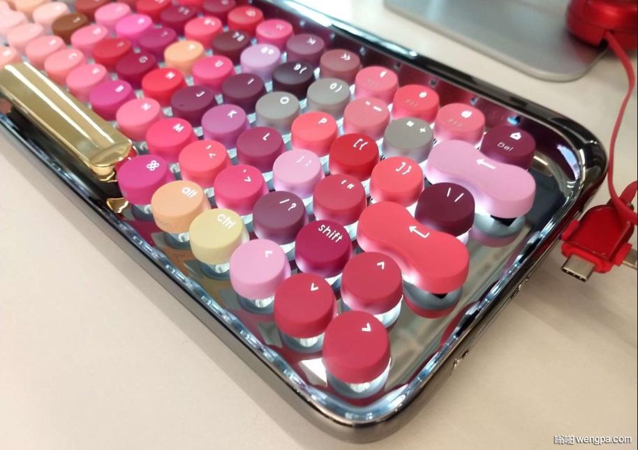 这不是化妆品 不是口红 这是一个键盘