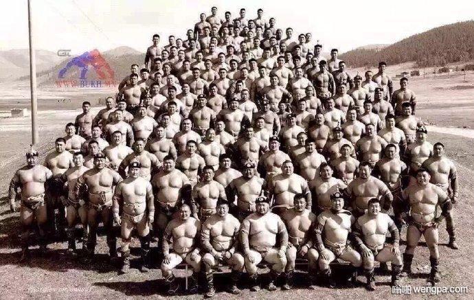【搞笑图片】蒙古人不相信肌肉