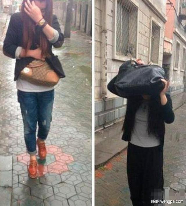 【搞笑图片】如何分辩女生手里的包贵不贵