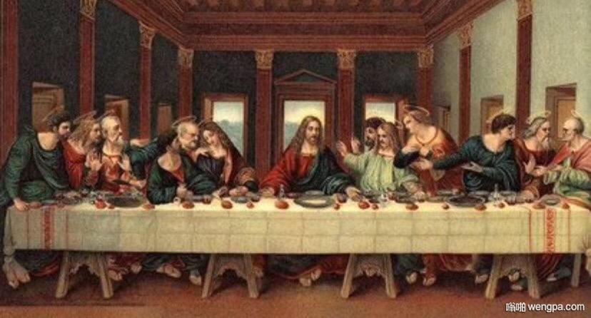 达芬奇 最后的晚餐