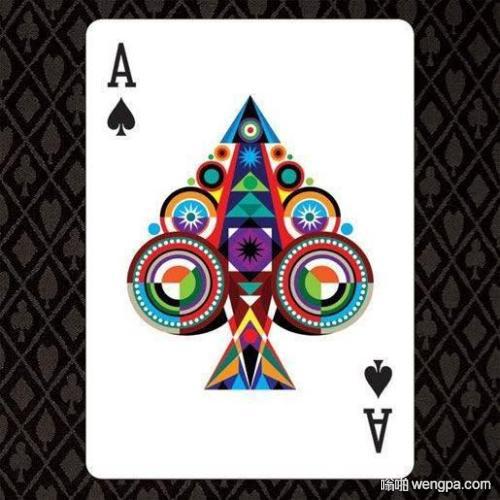 【笑话段子】老王好赌 在胸口纹了一个刺青 是扑克牌的四张A