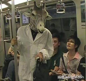 【笑话】今天去乘地铁,科室的年轻医生突然打来电话
