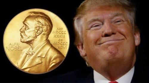 特朗普获诺贝尔和平奖提名 网友:花钱买的么