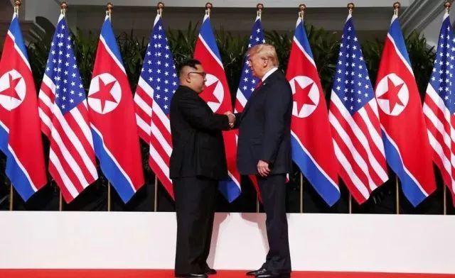 2018年6月特朗普促成朝美领导人对话