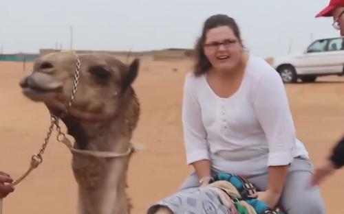 【搞笑段子】你们马场什么时候来了一头骆驼