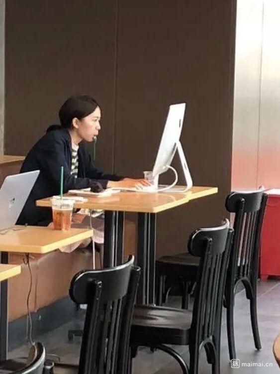 带iMac去星巴克可以吗 有人就这么干了