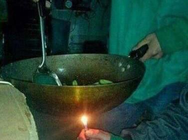 炒菜的时候煤气用完了怎么办?