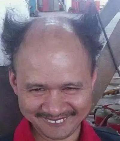 今天刚理的发型,你们说我帅吗?