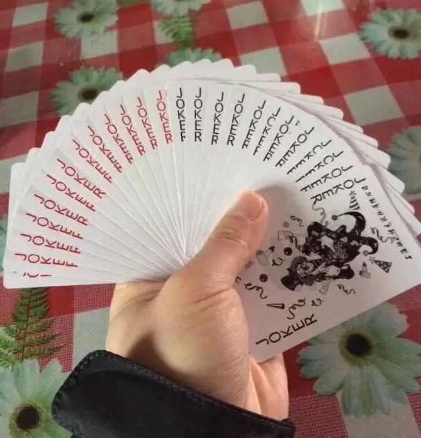 运气不错,拿了一手好牌……