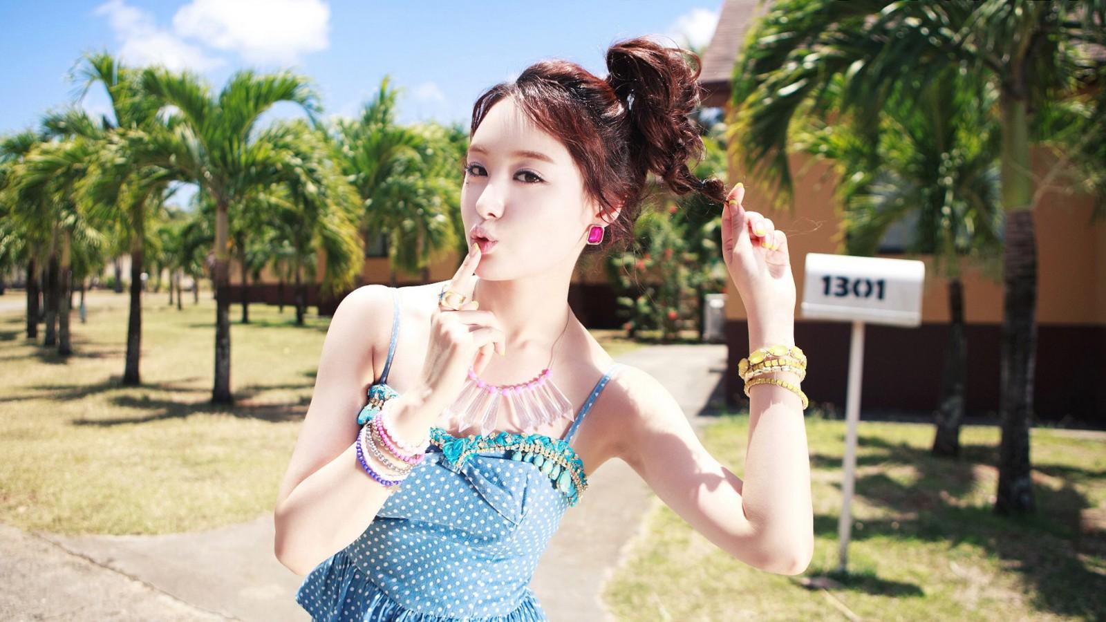 Secret,写真,清新夏日,进击的韩流,韩国美女壁纸