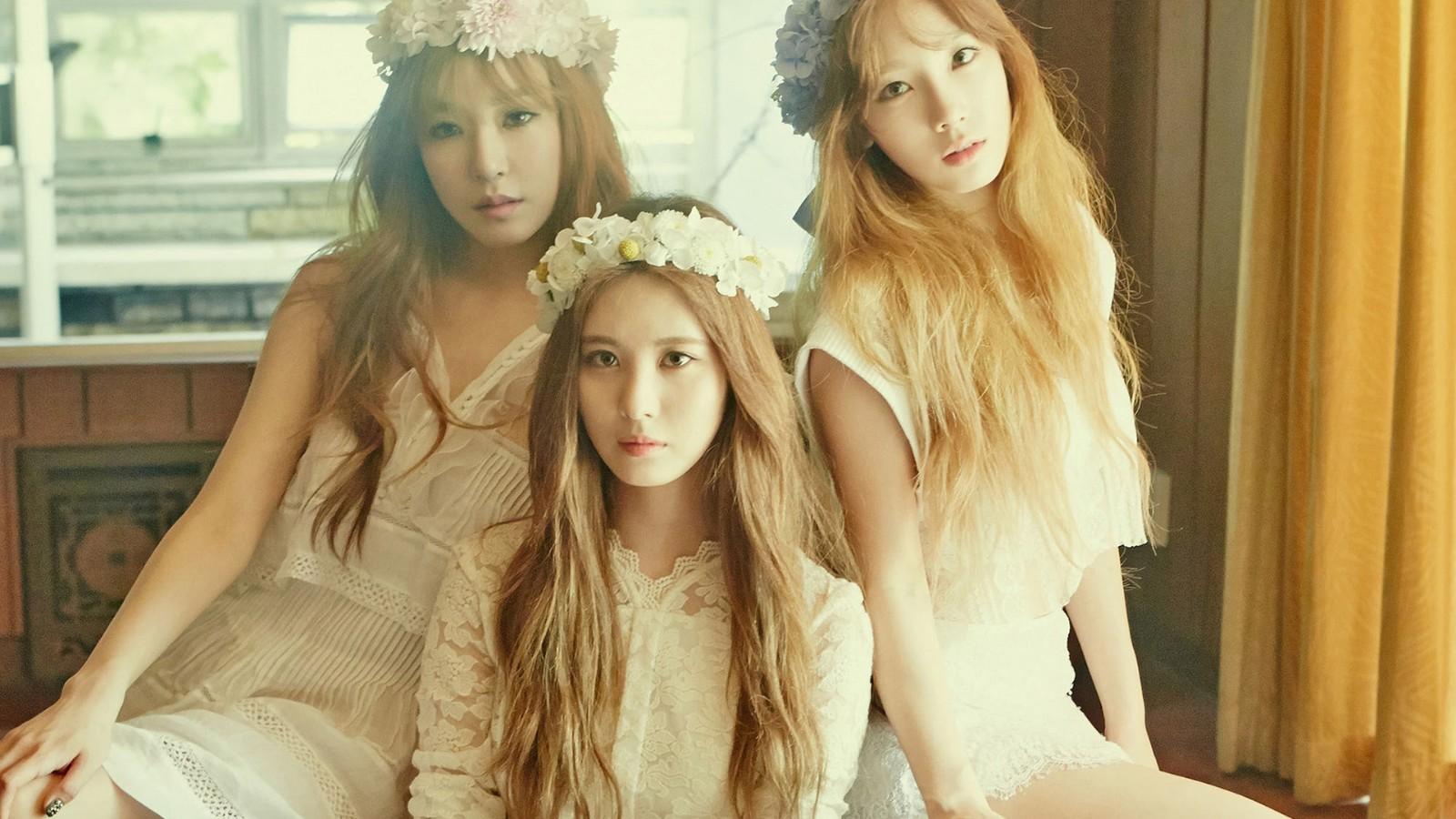 TaeTiSeo,金泰妍,黄美英,徐珠贤,少女时代写真,美女壁纸